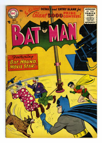 Batman #103 (DC, 1956) Condition: FN+. First Silver Age issue. Third Bat-Hound cover and story. Sheldon Moldoff cover. M...