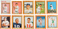 "Baseball Cards:Sets, 1960 Post Cereal ""Sports Stars"" Complete Set (9) Plus Mantle CerealBox or Store Display Ad. ..."