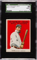 Baseball Cards:Singles (Pre-1930), 1915 Cracker Jack Ty Cobb #30 SGC 88 NM/MT 8 - Among The Finest Known! ...