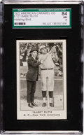 "Baseball Cards:Singles (Pre-1930), 1922 E121 American Caramel ""Babe"" Ruth, Holding Bird SGC 84 NM 7 -The Finest Known! ..."
