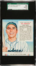 Baseball Cards:Singles (1950-1959), 1954 Red Man Gil Hodges #22 SGC 92 NM/MT+ 8.5 - Pop One, OneHigher!...