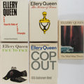 Books:Mystery & Detective Fiction, Ellery Queen. Group of Five First Edition, First Printing Books. Various publishers, 1965-1988. Publisher's binding and djs.... (Total: 5 Items)