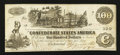 Confederate Notes:1862 Issues, T39 $100 1862 PF-14 Cr. UNL.. ...