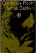 Books:Literature 1900-up, James Baldwin. Giovanni's Room. Dial Press, 1956. Firstedition, first printing. Publisher's binding with light rubb...