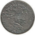 Large Cents, 1793 Chain 1C Periods -- Corroded -- ANACS. Fine 12 Details. S-4,B-5, R.3....