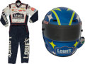 Miscellaneous Collectibles:General, 2000's NASCAR Race Worn Fire Suit and Helmet....