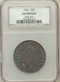 Early Half Dollars, 1806 50C Pointed 6, Stem -- Whizzed -- NCS. AU Details. NGC Census:(57/995). PCGS Population (60/158). Mintage: 839,57...