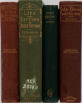 Books:Americana & American History, [Slavery]. Group of Four Related Books. Various editions andpublishers. 1889-1894. Publisher's cloth with minor rubbing and...(Total: 4 Items)