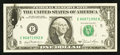 Error Notes:Ink Smears, Fr. 1976-E $5 1981 Federal Reserve Note. Crisp Uncirculated.. ...