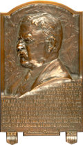 U.S. Presidents & Statesmen, Pair of Theodore Roosevelt Plaques. ... (Total: 2 coins)
