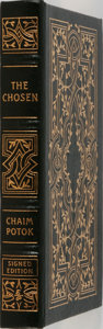 Books:Fiction, Chaim Potok. LIMITED/SIGNED. The Chosen. Easton Press, 1996.Limited to 3500 hand-numbered copies signed by the ...