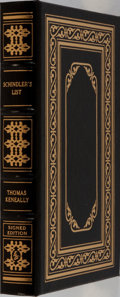Books:Fiction, Thomas Keneally. SIGNED. Schindler's List. Easton Press,1999. Collector's edition, signed by the author and add...