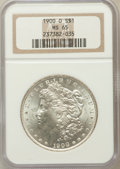 Morgan Dollars: , 1900-O $1 MS65 NGC. NGC Census: (6517/1039). PCGS Population(5831/934). Mintage: 12,590,000. Numismedia Wsl. Price for pro...