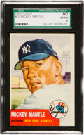 Baseball Cards:Singles (1950-1959), 1953 Topps Mickey Mantle SP #82 SGC 80 EX/NM 6....