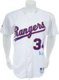 Autographs:Jerseys, 1993 Nolan Ryan Signed Game Issued Texas Rangers Jersey....
