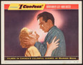 """Movie Posters:Hitchcock, I Confess (Warner Brothers, 1953). Lobby Card (11"""" X 14"""").Hitchcock.. ..."""