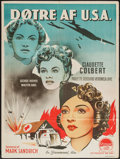 "Movie Posters:War, So Proudly We Hail (Paramount, 1945). Danish Poster (24.75"" X33.75""). War.. ..."
