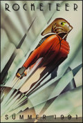 """Movie Posters:Action, The Rocketeer (Walt Disney Pictures, 1991). One Sheet (27"""" X 40"""")Advance. Action.. ..."""