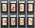 "Non-Sport Cards:Sets, Circa 1900 T432 American Tobacco Co. ""Butterflies"" Near Set(48/50). ..."
