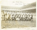 Baseball Collectibles:Others, 1946 Negro League All-Star Game West Team Photograph....