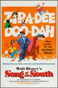 """Movie Posters:Animation, Song of the South (Buena Vista, R-1972). One Sheet (27"""" X 41""""). Animation.. ..."""