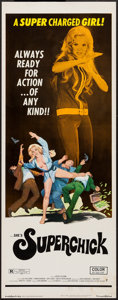 "Movie Posters:Bad Girl, Superchick (Crown International, 1973). Insert (14"" X 36""). BadGirl.. ..."