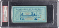 Baseball Collectibles:Tickets, 1939 Opening of Baseball Hall of Fame Game Ticket Stub....