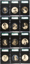 "Non-Sport Cards:Sets, 1924 Godfrey Phillips ""Cinema Stars"" Complete Set (25) - #2 on theSGC Set Registry. ..."