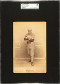 Baseball Cards:Singles (Pre-1930), C. 1889 Wybrant Studio Buster Tomney Cabinet Photo SGC 80 EX/NM 6....