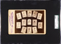 Baseball Cards:Singles (Pre-1930), C. 1887 New Orleans Pelicans Team Cabinet Photo SGC Authentic. ...