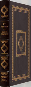 Books:Biography & Memoir, George Foreman. SIGNED. By George. The Autobiography of GeorgeForeman. Easton Press, 1995. Collector's edition ...