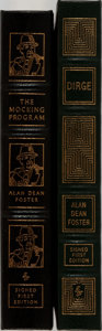 Books:Science Fiction & Fantasy, Alan Dean Foster. Two LIMITED/SIGNED Easton Press Volumes. Easton Press, 2000 and 2002. Publisher's original leather binding... (Total: 2 Items)