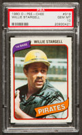 Baseball Cards:Singles (1970-Now), 1980 O-Pee-Chee Willie Stargell #319 PSA Gem Mint 10 - One of Only Two! ...