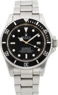 Timepieces:Wristwatch, Rolex Ref. 16660 Oyster Perpetual Date Sea-Dweller, circa 1984. ...