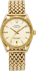 Timepieces:Wristwatch, Rolex Ref. 1007 Gold Oyster Perpetual For Tiffany & Co., circa 1950's. ...
