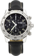 "Timepieces:Wristwatch, Sinn Ref. 103.0848 ""Der Taucherchronograph"" By Bell & Ross, circa 1990's. ..."