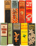 Big Little Book:Miscellaneous, Big Little Book Western Group (Whitman, 1930s) Condition: AverageVF.... (Total: 9 Comic Books)