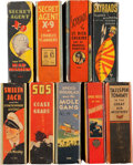 Big Little Book:Miscellaneous, Big Little Book Adventure Group (Whitman, 1930s) Condition: AverageFN/VF.... (Total: 9 Comic Books)