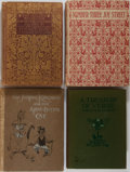 Books:Children's Books, Children's Illustrated Books]. Group of Four Related Books. Variouspublishers, 1900-1925. Fair or better condition.... (Total: 4Items)