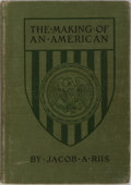 Books:Americana & American History, Jacob A. Riis. The Making of an American. Macmillan, 1921.Later impression. Publisher's cloth with light rubbing. O...