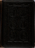 Books:Fine Press & Book Arts, [Victorian Book Binding]. The Miracles of Our Lord.Longmans, 1848. Twelvemo. Original leather backstrip over pa...