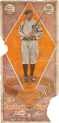 Baseball Cards:Singles (Pre-1930), 1914 Boston Garter Ty Cobb. ...