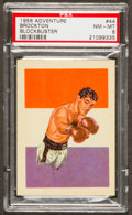 Boxing Cards:General, 1956 Topps Adventure Rocky Marciano #44 PSA NM-MT 8....