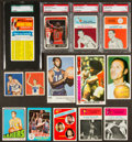 Basketball Cards:Lots, 1940's-1980's Multi-Brand Basketball Card Collection (93). ...