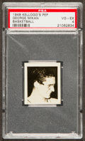 Basketball Cards:Singles (Pre-1970), 1948 Kellogg's Pep George Mikan Rookie PSA VG-EX 4....