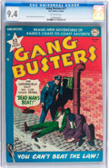 Golden Age (1938-1955):Crime, Gang Busters #17 (DC, 1950) CGC NM 9.4 Off-white pages....