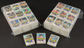 Baseball Cards:Lots, 1983 Fleer Baseball Cello Pack Collection (93) With Boggs/Ripken& Sandberg Rookie Showing! ...