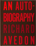 Books:Photography, [Photography]. Richard Avedon. An Autobiography. RandomHouse, 1993. First edition, first printing. Publisher's clot...
