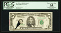 Error Notes:Printed Tears, Fr. 1976-J $5 1981 Federal Reserve Note. PCGS Apparent Very ChoiceNew 64.. ...