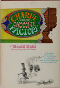 Books:Children's Books, Roald Dahl. Charlie and the Chocolate Factory. Knopf, 1964.First edition, later impression [with five-line colo...